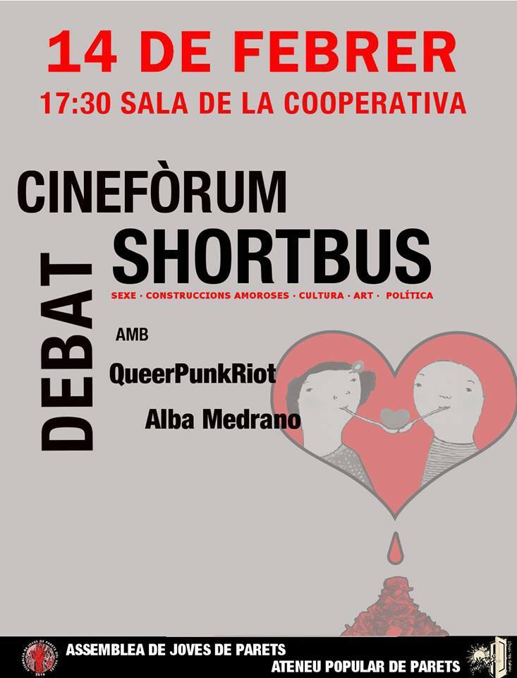 cineforum shortbus parets